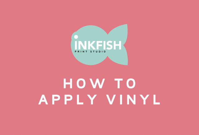 how to apply vinyl